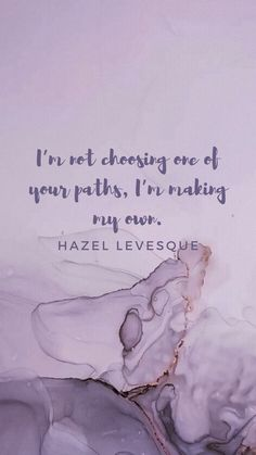"""🔮 """"I'm not choosing one of your paths, I'm making my own"""" 🔮 . ‼️WALLPAPER VERSION IN STORY‼️ Like ❤️ and follow for more - feedback sheet 📝 in highlight What's your favourite #riordanverse character 💗? Do you want more #percyjacksonquotes 🌻 ? Comment below👇🏻🥰 . . . . Hashtags:  #paintaesthetics #percyjacksonaesthetics #percyjacksonaestheticedit #percyjacksonsonofposeidon #percyjacksonquote #violetaesthetics #hazellevesquequotes #hazelevesque #hazellevesque Percy Jackson Wallpaper, Calligraphy Wallpaper, Percy Jackson Quotes, Hazel Levesque, Chapter 16, Rick Riordan Books, Character Wallpaper, Book Characters, Wallpaper Quotes"""