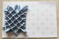 How to do canadian smocking matrix design - Art & Craft Ideas