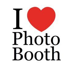 i love photo booth