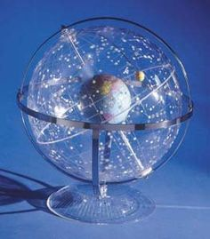 I am a big fan of globes, especially celestial globes. This one, in particular, is very intricate and pretty.