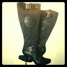 Spotted while shopping on Poshmark:  Ed Hardy Womens Boots Size: 8 ! #poshmark #fashion #shopping #style #Ed Hardy #Shoes