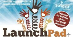 LaunchPad is a training event that aims to equip church-based holiday club teams with loads of ideas, resources, thinking and enthusiasm as they prepare to reach out to their communities this summer.