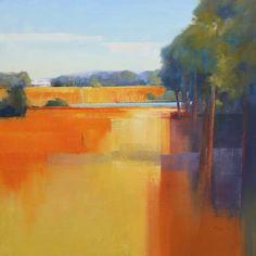 John Lacey, Autumn Margaret River Oil on canvas 91 x 91 cms