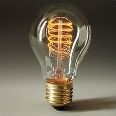 FALBALA-LUMINAIRES.COM - Lampe Filament Spirale 40W pour déco - E27 - 22,00€