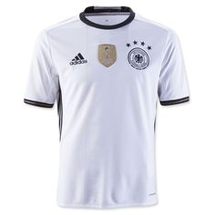 adidas Youth Germany Home Soccer Jersey Climacool 2016
