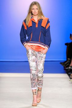 Isabel Marant Spring 2012 Ready-to-Wear Fashion Show - Romee Strijd (Viva)