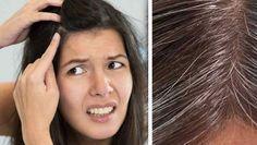 Quita las canas de tu cabello para siempre en solo 1 día con este truco casero o mejor dicho con la solución final para las canas.