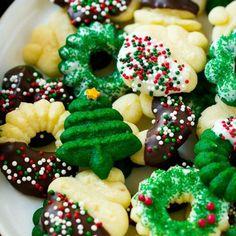 Cream Cheese Spritz Cookies