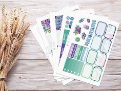 Planner Stickers | Weekly Kit - Succulent Garden | Erin Condren Vertical