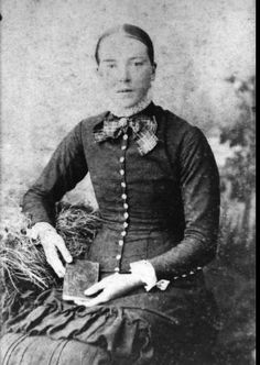 Elizabeth Margaret Ross was from Maitland, New South Wales, before moving to Maryborough, Queensland. (Description supplied with photograph.) She was born in 1860 and married George Dawson on 12 May 1885. She died on 28 January 1930 and is buried in Maryborough Cemetery. Qld State Archives