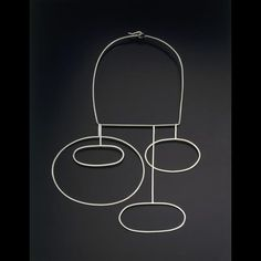 Betty Cooke Neckpiece (1959) Museum of Arts and Design Collection