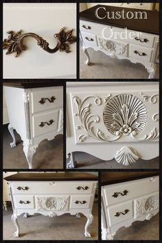 Painted Cedar Chest by Vintage Charm and Restoration