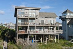 AVON Vacation Rentals | Seventh Wave - Oceanfront Outer Banks Rental | 136 - Hatteras Rental