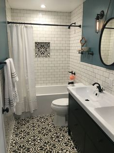 Gorgeous shower room remodel and complete improvement to this desire bathroom! Restroom Renovation Concepts: restroom remodel cost, shower room ideas for small restrooms, little bathroom design ideas. #bathroomremodelrockfordil