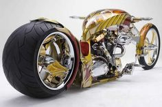 Nehme-sis Gold Plated Chopper to Appear at New Zealand's 2013 CRC Speedshow 1