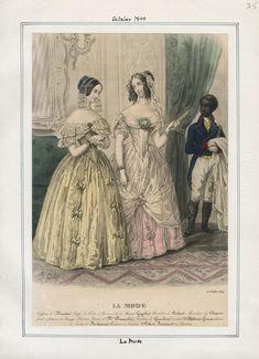La Mode September 1844 LAPL