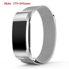 Magnetic Milanese Stainless Steel Band for Fitbit Charge 2 (6 Colors)