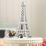 Eiffel tower centerpiece or cake top