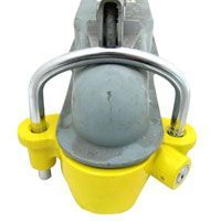 Thieves are not happy about this heavy duty trailer coupler lock | RV Travel