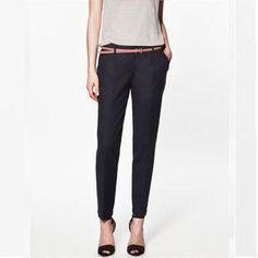 Классические женские черные брюки