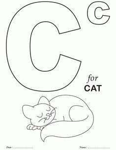 Printables Alphabet C Coloring Sheets Download Free Printables Preschool Coloring Pages Abc Coloring Pages Printables Free Kids
