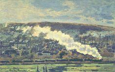 Monet Convoi de chemin de fer