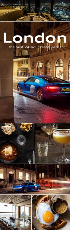 Your best partner in crime when you want to turn day into night in London? An Audi It will take you to the best 24 hour restaurants in town: Balans Soho Society, VQ and Duck & Waffle. My Dream Car, Dream Cars, Lemans Car, Audi R8 V10 Plus, Partners In Crime, New And Used Cars, Car Manufacturers, Driving Test, Le Mans