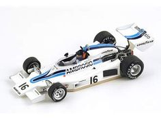 Shadow DN8 (Jackie Oliver - Race of Champions 1977) in White (1:43 scale by Spark S1689)