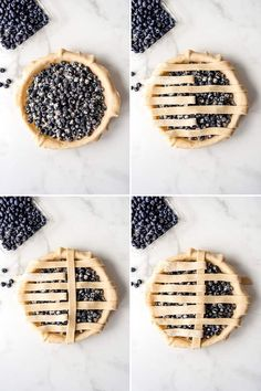Deliciously sweet and juicy with a buttery, flaky crust, nothing quite compares to a classic Homemade Blueberry Pie! It's the ultimate summer dessert with plump, fresh or frozen blueberries for an easy blueberry pie filling and my perfect pie crust that wins every time! #pie #blueberries #blueberrypie #best #recipe #easy #fresh #frozen #fromscratch #homemade Best Blueberry Pie Recipe, Homemade Blueberry Pie, Blueberry Recipes, Homemade Pie, Best Manicotti Recipe, Dessert Recipes, Dessert Ideas, Baking Recipes, Lattice Pie Crust