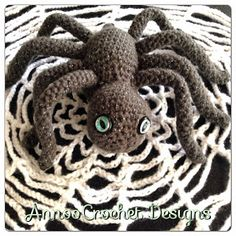 Free Tut By AnnooCrochet Designs  Halloween Spider Web Crochet.