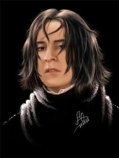 Master Severus Snape - ksenia20092009: Perfect art with our favourite...