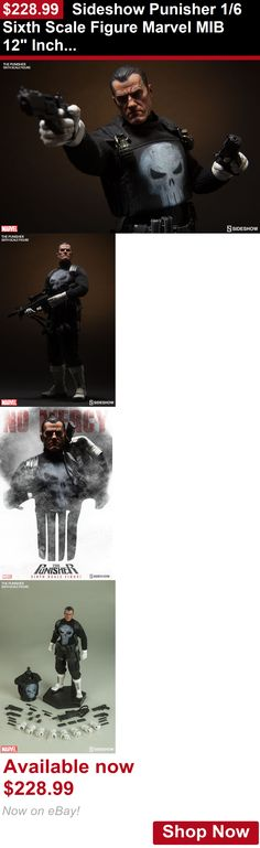 Telescopes: Sideshow Punisher 1/6 Sixth Scale Figure Marvel Mib 12 Inch 100212 Double Boxed BUY IT NOW ONLY: $228.99