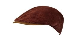 beautiful corduroy flat cap made by Alfonso d'Este - brillant cap manufacturer from Napoli