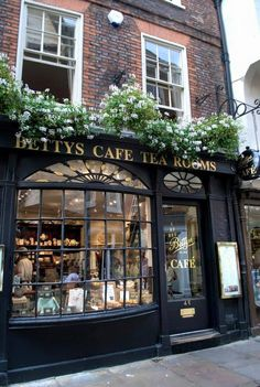 Bettys Café Tea Rooms ~ 46 Stonegate | York, York YO1 8AS, England - been there! -