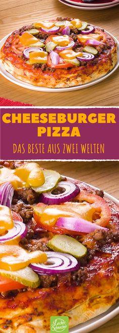 Mix aus Pizza & Cheeseburger stürmt das Internet!