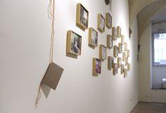 'Santi e Maddalene'   stampa fotografica + paraffina,   20 x 20 cm   Otto luogo dell'arte Firenze