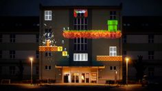 8-bit projection mapping
