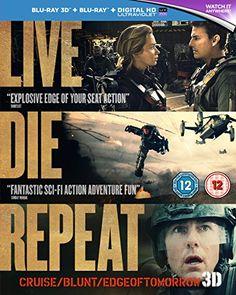 Live Die Repeat: Edge of Tomorrow [Blu-ray 3D + Blu-ray] [2014] [Region Free] - http://cybertimes.co.uk/2016/06/26/live-die-repeat-edge-of-tomorrow-blu-ray-3d-blu-ray-2014-region-free/
