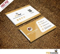 Restaurant Chef Business Card Template Free Psd for Name Card Design Template Psd - Business Plan Templates Business Card Maker, Business Card Template Word, Free Business Cards, Unique Business Cards, Business Templates, Creative Business, Visiting Card Templates, Clash On, Name Card Design