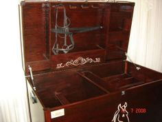 images tack trunk | Custom Tack Trunks To Your Design in Calgary, Alberta - Hoobly ... Diy Storage Trunk, Storage Chest, Tack Locker, Tack Box, Tack Trunk, Saving Ideas, Horse Stuff, Hope Chest, Lovely Things
