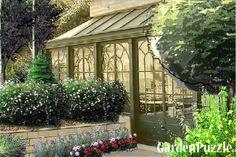 Projekt ogrodu:ORANŻERIA.... - Lato