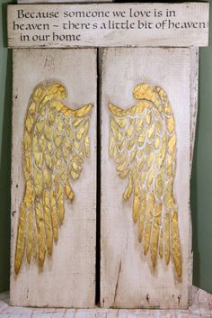 Wooden Angel Wings Wall Decor angel wings, large angel wings, angel wing decor, angel wing wall