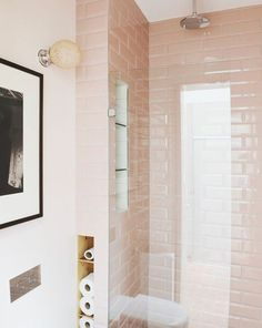 Black&White (and pink!) Bathroom - Inside Closet : #safety #sustainance #tranquility #safe #getaway #happyplace #runaway #relax #zen #innerpeace #quiet #favoriteplace #everydaylife #bathe #innerhappiness #happiness #calm #collected #oasis