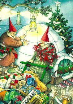 Oversized - Inge Look Christmas 8 X 12 inch Postcard by 9teen87's Postcards, via Flickr