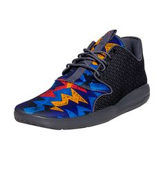 JORDAN Eclipse sneaker Men's low top shoe AIR JORDAN jumpman flight logo detail on back of heel Lace up closure Mesh tongue with AIR JORDAN jumpman logo graphic Speckled midsole design Cushioned inner sole for comfort Traction rubber outsole for ultimate performance