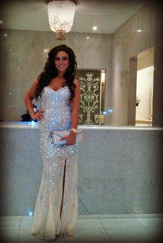Servete posed in #Jovani style 4247! #fashion #fabulous #girly #pretty #sparkly #sparkle #beautiful #style