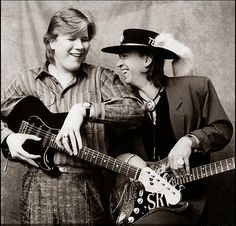 Jeff Healey and Stevie Ray