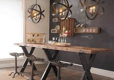 Rustic Furniture #vintageindustrialfurniture