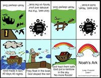 Noah's Ark lapbook and activity printables