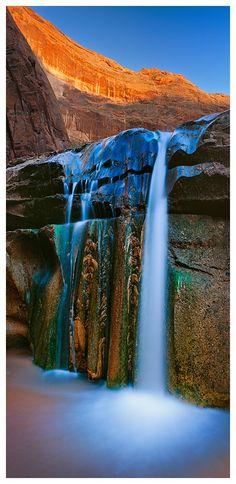 Gates of Eden Waterfalls, Escalante, Utah